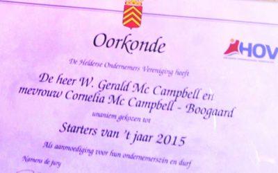 TuinKeur-hovenier Top Tuinier Starter van het jaar 2015 Den Helder
