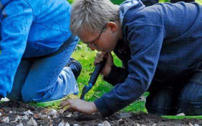 Waarom is het goed om samen met kinderen bloembollen te planten?