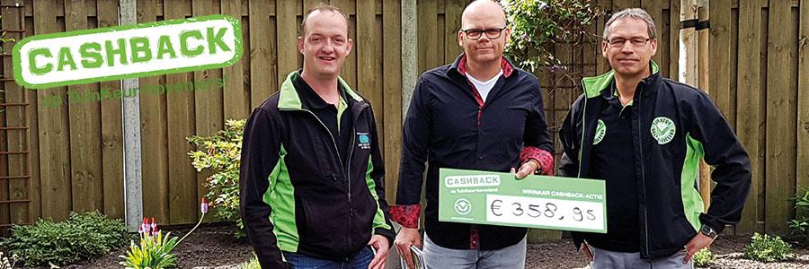 Prijs landelijke CASHBACK-actie valt in Dedemsvaart