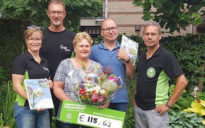 Prijs landelijke CASHBACK-actie valt in Zeewolde