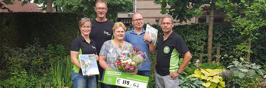 CASHBACK-actie prijs valt in Zeewolde