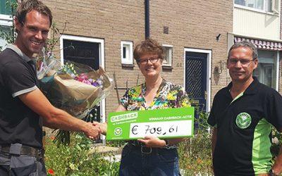 Uitreiking prijs landelijke CASHBACK-actie in Apeldoorn