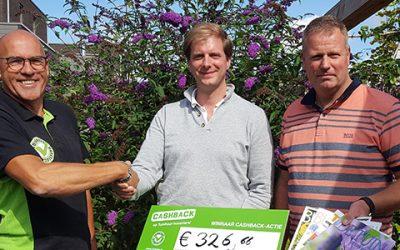 Prijs landelijke CASHBACK-actie valt in Amsterdam