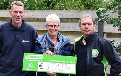 Prijs landelijke CASHBACK-actie valt in Deurne