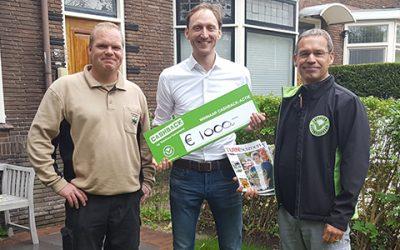 Prijs landelijke CASHBACK-actie valt in Leiden