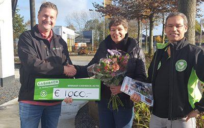 Prijs landelijke CASHBACK-actie valt in Bergharen
