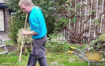 Hoveniersbedrijf Terra Flora in actie voor Hovenier Helpt