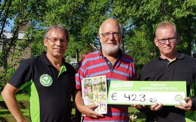 Prijs landelijke CASHBACK-actie valt in IJlst