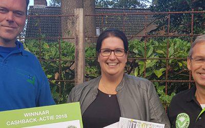 Prijs landelijke CASHBACK-actie valt in Wapse
