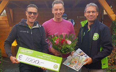Prijs landelijke CASHBACK-actie valt in Brummen