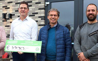 Prijs landelijke CASHBACK-actie valt in Loenen aan de Vecht