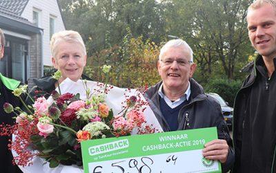 Prijs landelijke CASHBACK-actie valt in Assen