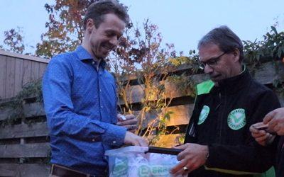 Cashback-actie winnaars jaarabonnement Groei & Bloei van de maand oktober