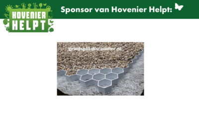 Sponsoren Hovenier Helpt uitgelicht