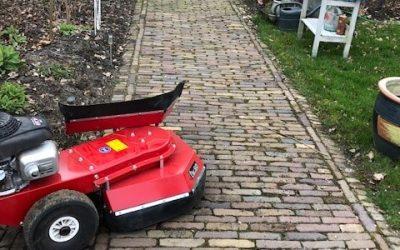 Blog: In de tuin van Jelle: Vroeg beginnen, dan blijft het schoon