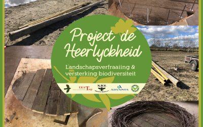 Project de Heerlyckheid: Nieuw ooievaarsnest