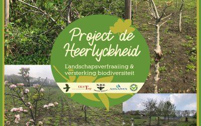 Project de Heerlyckheid: Fruit en meer op de Heerlyckheid
